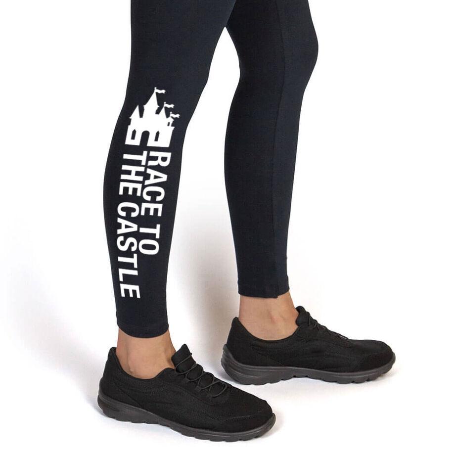 Running Leggings - Race To The Castle