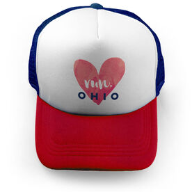 Running Trucker Hat Run Ohio