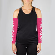 Running Printed Arm Sleeves - Bad Ass Runner