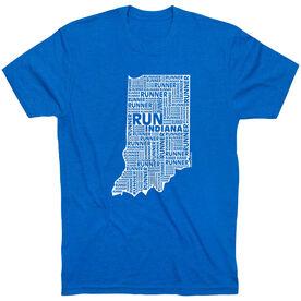 Running Short Sleeve T-Shirt - Indiana State Runner