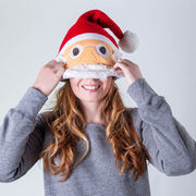 Happy Hatter Santa Beanie Hat & Mask