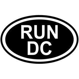Vinyl Decal Run Washington DC