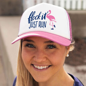 Running Trucker Hat - Flock It Just Run