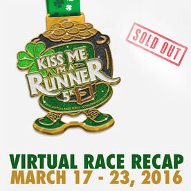 Kiss Me I'm A Runner Virtual 5K