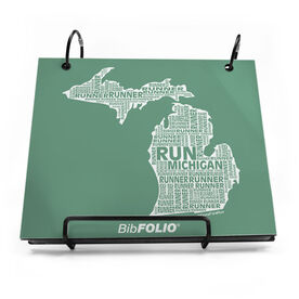 Michigan State Runner BibFOLIO