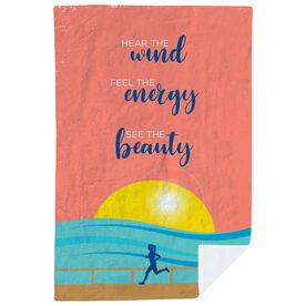 Running Premium Blanket - Hear the Wind