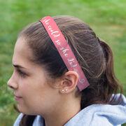 Running Juliband No-Slip Headband - She Believed She Could So She Did