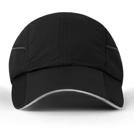 Ultra Pocket Hat for Runners - Black