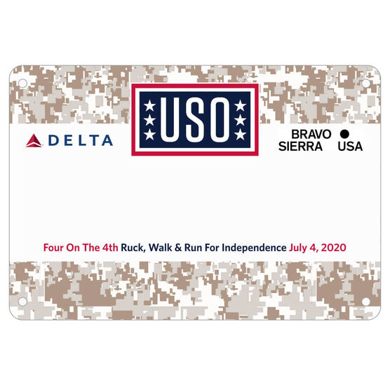 Virtual Race - Four On The 4th - USO Ruck, Walk & Run For Independence
