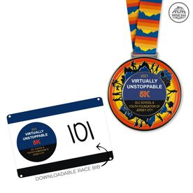 Virtual Race - The OLC School and Youth Foundation of Jersey City Virtually Unstoppable 5K (2021)