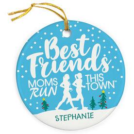 Running Porcelain Ornament - Best Friends (MRTT)