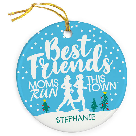 Running Porcelain Ornament - Best Friends (MRTT)