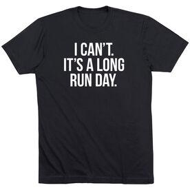 Running Short Sleeve T-Shirt - Long Run Day