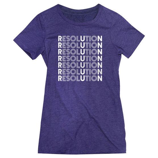 Women's Everyday Runners Tee - Resolution Run