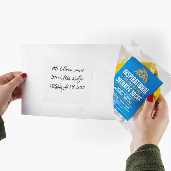 Socrates Socks Mailing Envelope