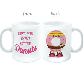 Running Coffee Mug - I Eat the Donuts
