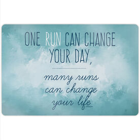 "Running 18"" X 12"" Wall Art - Change Your Life"