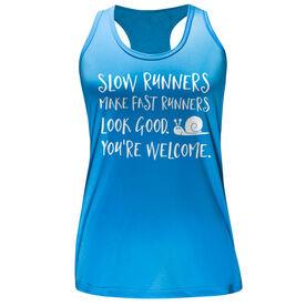 Women's Performance Tank Top - Slow Runners