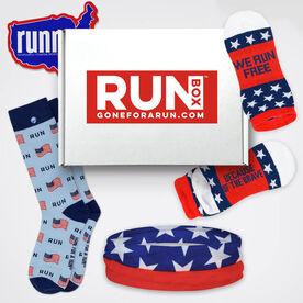 RUNBOX® Gift Set - Patriotic Runner
