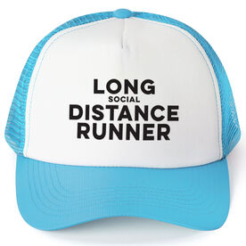 Running Trucker Hat - Long Social Distance Runner