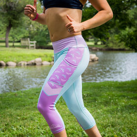 Running Performance Capris - Princess