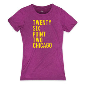 Women's Everyday Runners Tee Twenty Six Point Two Chicago