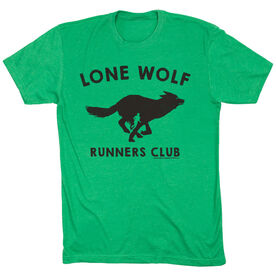 Running Short Sleeve T-Shirt - Run Club Lone Wolf