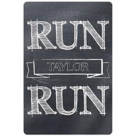 "Running 18"" X 12"" Wall Art - Run Your Name Run"