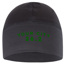 Run Technology Beanie Performance Hat - 26.2 Your City
