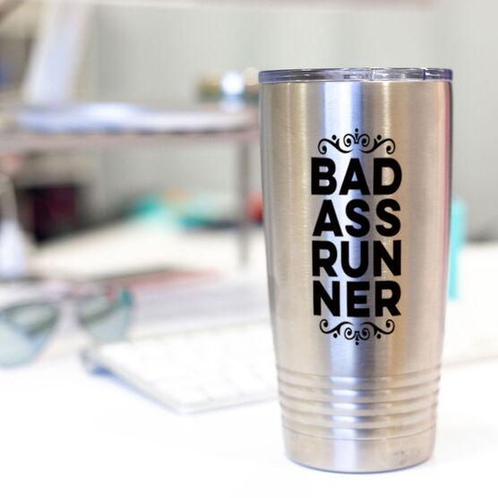 Running 20 oz. Double Insulated Tumbler - Bad ass Runner