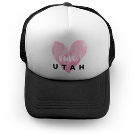 Running Trucker Hat Run Utah