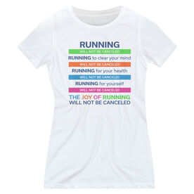 Women's Everyday Runners Tee - The Joy of Running Will Not Be Canceled ($5 Donated to the American Red Cross)
