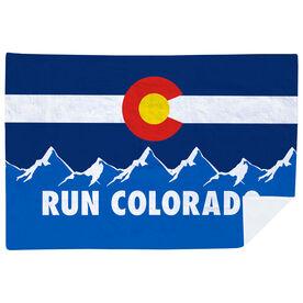 Running Premium Blanket - Run Colorado