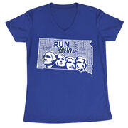 Women's Running Short Sleeve Tech Tee South Dakota State Runner