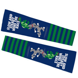 Running Printed Arm Sleeves - Tortoise and Hare