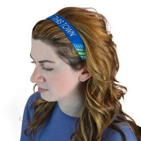 Julibands No-Slip Headbands - Moms Run This Town Diamond Pattern