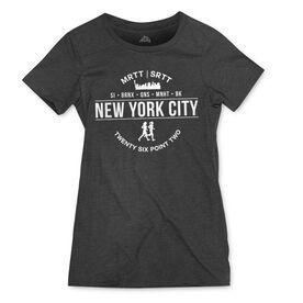 Women's Everyday Tee - New York City 26.2 (MRTT/SRTT)
