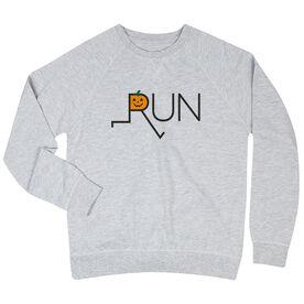 Running Raglan Crew Neck Sweatshirt - Let's Run For Jack