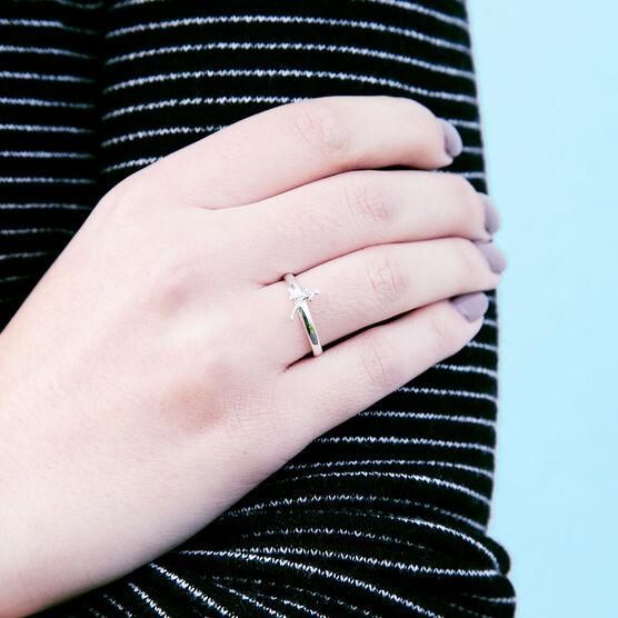 Runner Girl Sterling Silver Ring