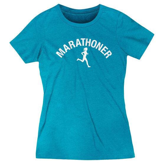 Women's Everyday Runners Tee - Marathoner Girl