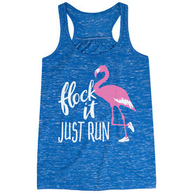 Flowy Racerback Tank Top - Flock It Just Run