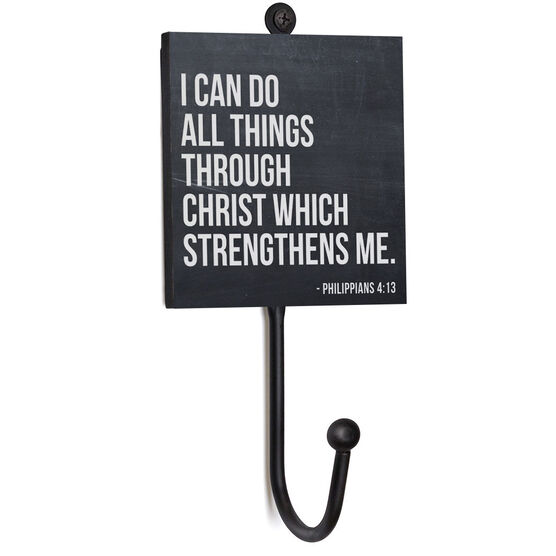 Running Medal Hook - I Can Do All Things Through Christ