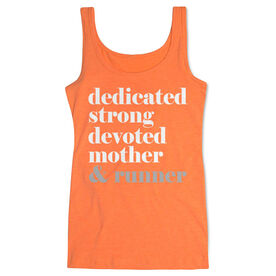 Women's Athletic Tank Top - Run Mantra Mother Runner