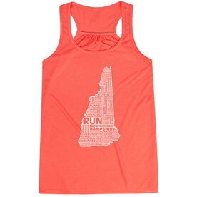 Flowy Racerback Tank Top - New Hampshire