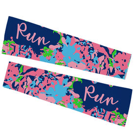 Running Printed Arm Sleeves - Run Floral