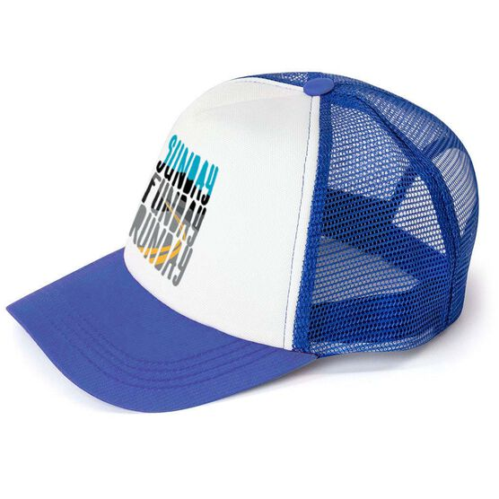 Running Trucker Hat - Sunday Funday Runday