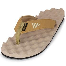 PR SOLES® Recovery Flip Flops - Brown