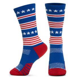 Socrates® Mid-Calf Performance Socks - Home Sweet Home