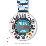 Virtual Race - Run For Chicago (5 Race Cities Challenge)