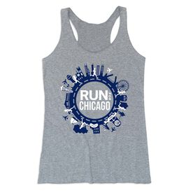 Women's Everyday Tank Top - Run For Chicago